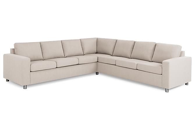 NEW YORK Hörnsoffa XL Vändbar Beige - Möbler & Inredning - Soffor - Hörnsoffor