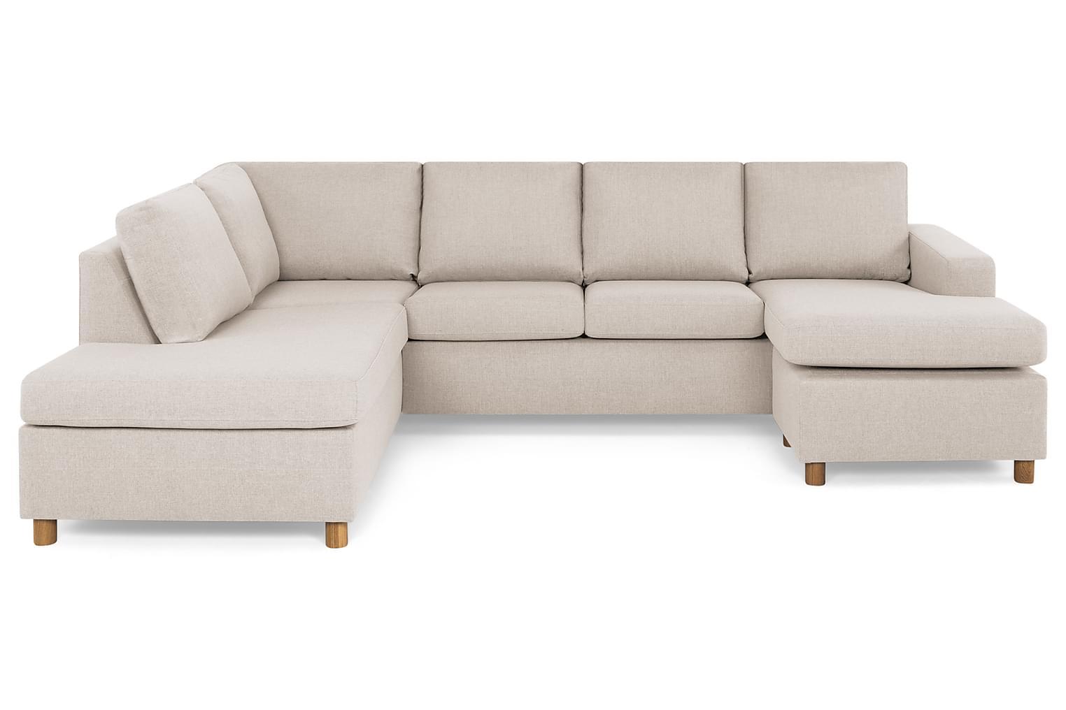 New NEW YORK Large U-soffa Vänster Beige -