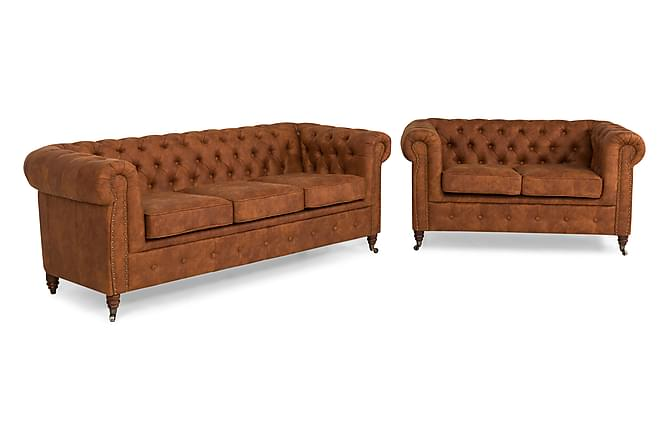 CHESTERFIELD LUX Soffgrupp 3-sits+2-sits - Inomhus - Soffor - Soffgrupper
