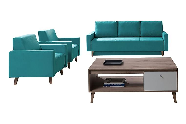 Oviedo Soffgrupp - Blå - Möbler & Inredning - Soffor - Soffgrupper