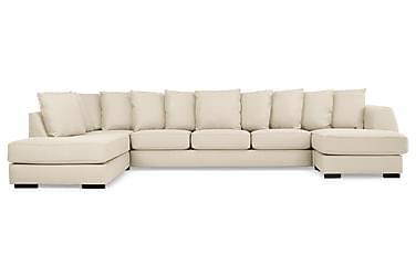 CLARKSVILLE U-soffa Large med Divan Höger Kuvertkuddar Beige