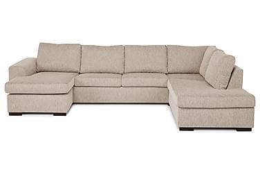 CONNECT U-soffa Large med Divan Vänster Beige
