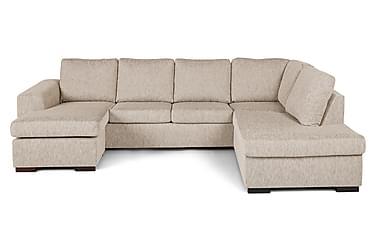 CONNECT U-soffa med Divan Vänster Beige