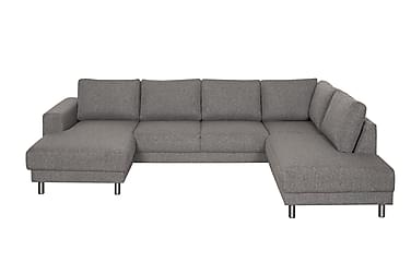 DEAN U-soffa med Divan Vänster Grå