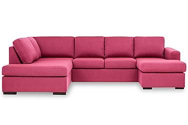 KENT U-soffa Large med Divan Höger Rosa