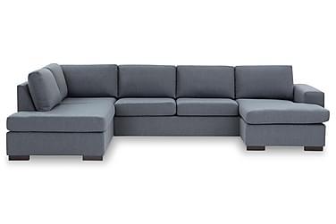 KENT U-soffa XL med Divan Höger Blå
