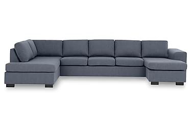 KENT U-soffa XXL med Divan Höger Blå