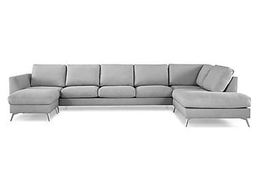 NASHVILLE LYX U-soffa med Divan Vänster Linnegrå