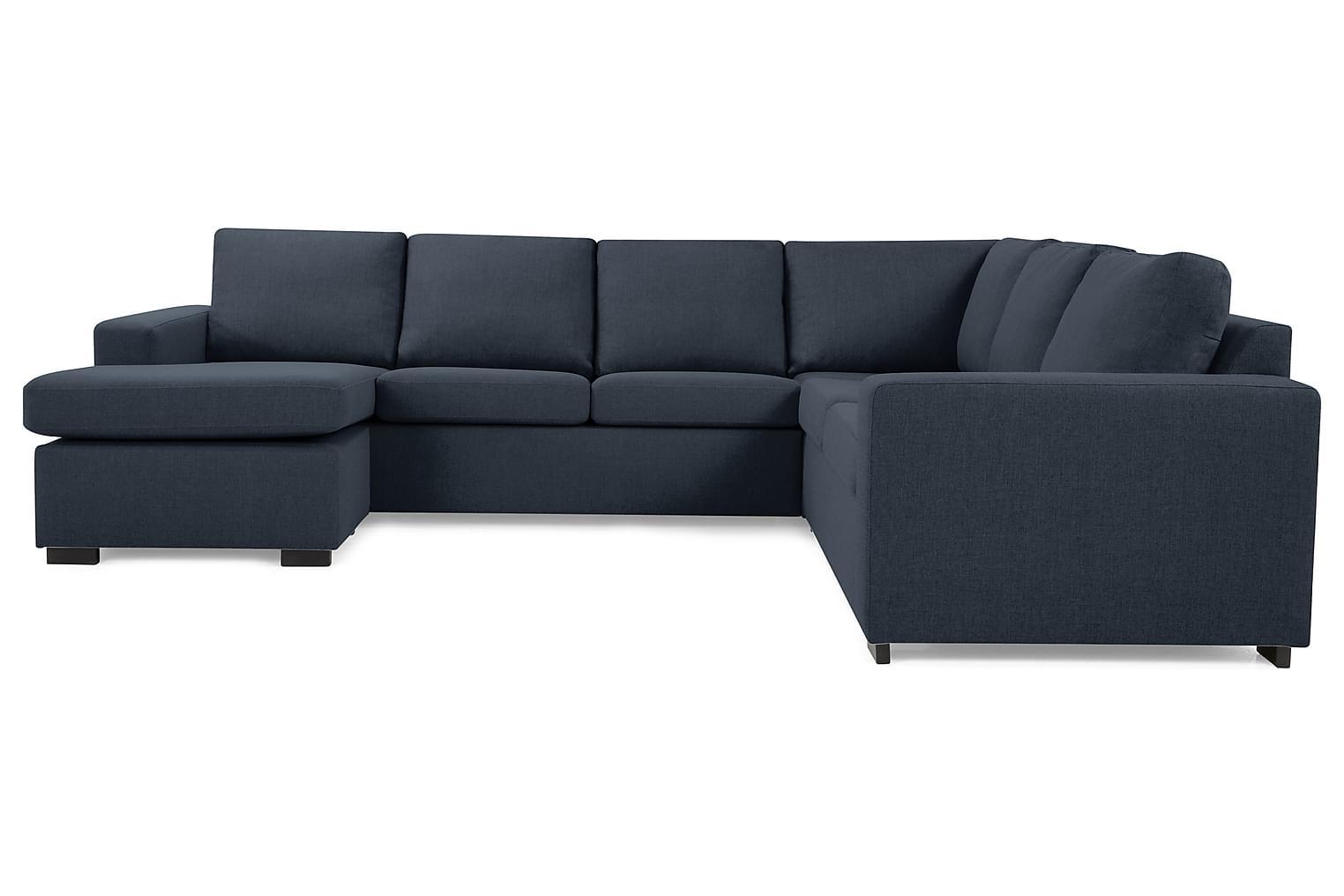 New NEW YORK Hörnsoffa med divan Mörkblå -