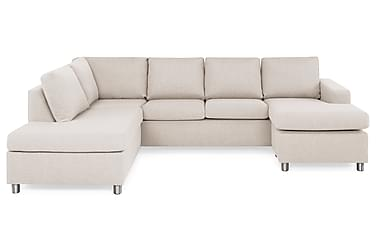 NEW YORK U-soffa Large Divan Höger Beige