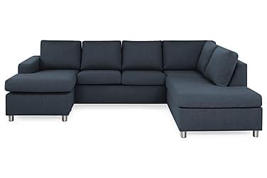 NEW YORK U-soffa Large Divan Vänster Mörkblå