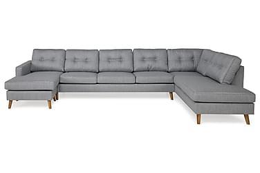 RIVALTA U-soffa Large med Divan Vänster Ljusgrå