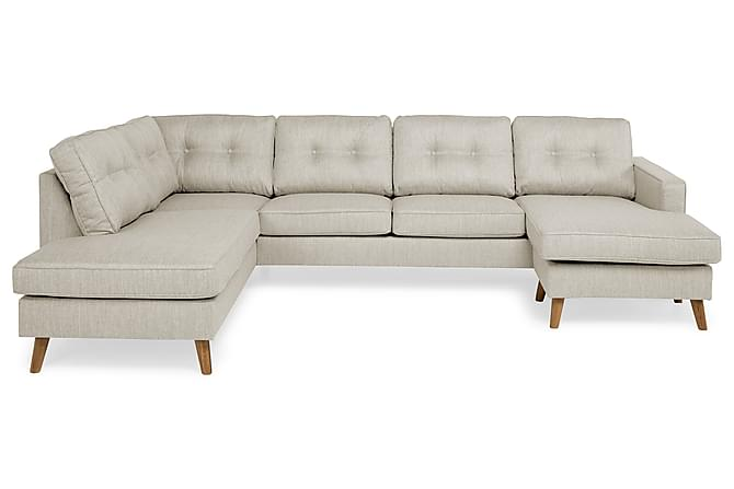 RIVALTA U-soffa med Divan Höger Beige - Inomhus - Soffor - U-soffor