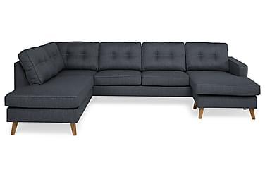 RIVALTA U-soffa med Divan Höger Mörkblå