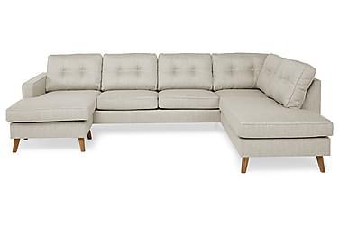 RIVALTA U-soffa med Divan Vänster Beige