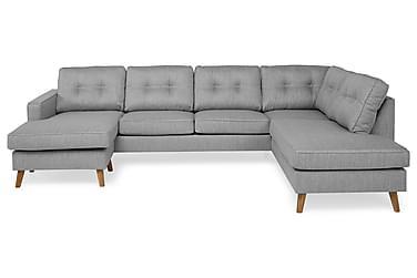 RIVALTA U-soffa med Divan Vänster Grå