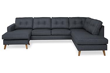 RIVALTA U-soffa med Divan Vänster Mörkblå