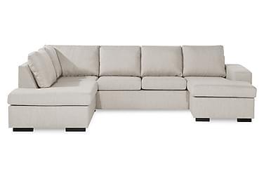 WINDHAM U-soffa med Divan Höger Beige
