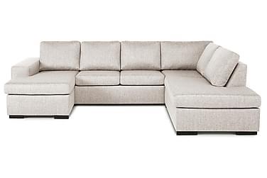 WINDHAM U-soffa med Divan Vänster Beige