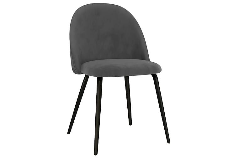 Matstolar 4 st grå tyg - Grå - Möbler & Inredning - Stolar - Karmstolar