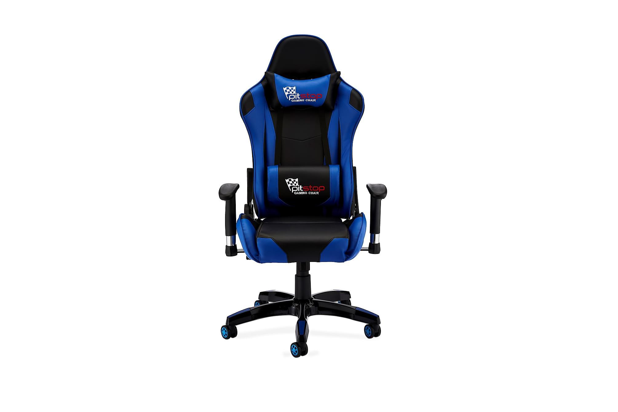 LUDUS Gamingstol Konstläder Blå