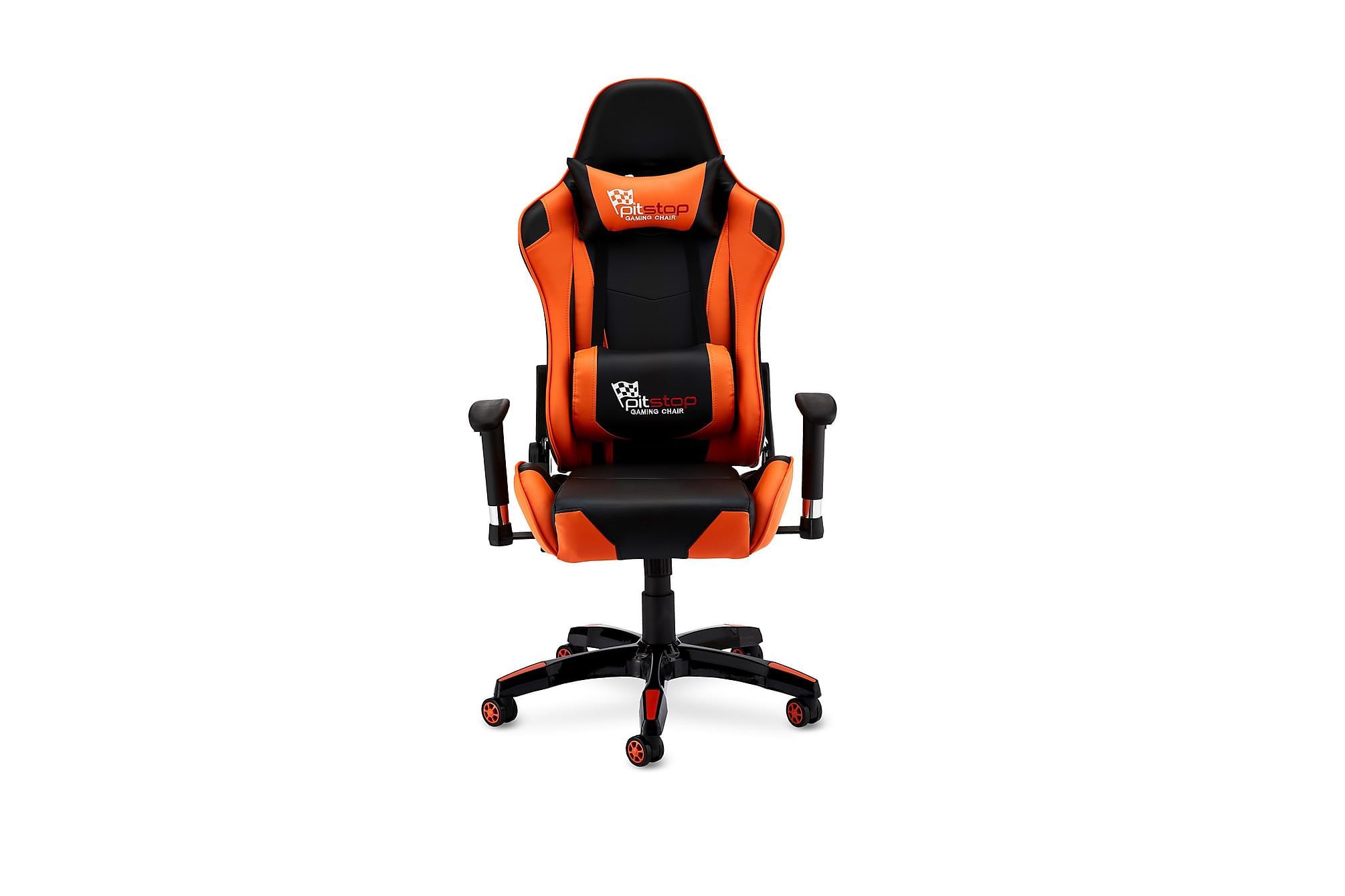 LUDUS Gamingstol Konstläder Orange