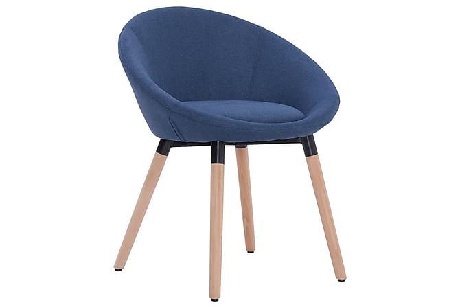 Matstol blå tyg - Blå - Möbler & Inredning - Stolar - Matstolar