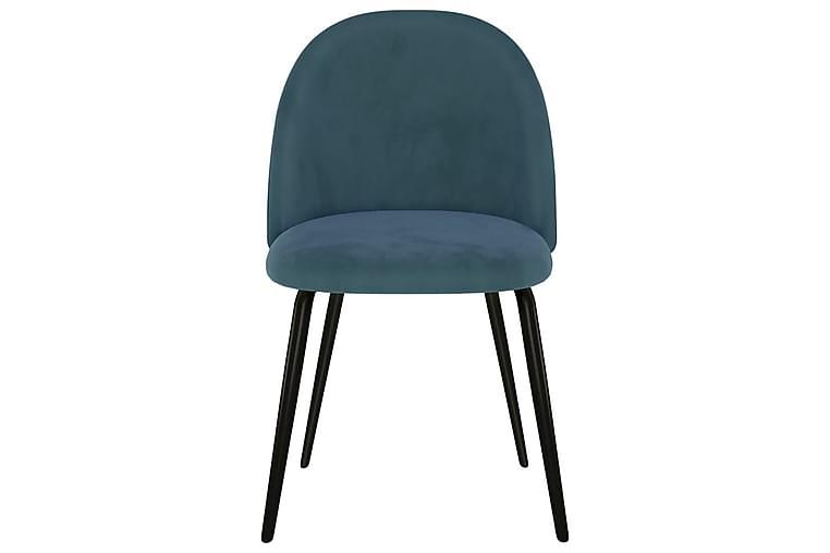 Matstolar 6 st blå tyg - Blå - Möbler & Inredning - Stolar - Matstolar