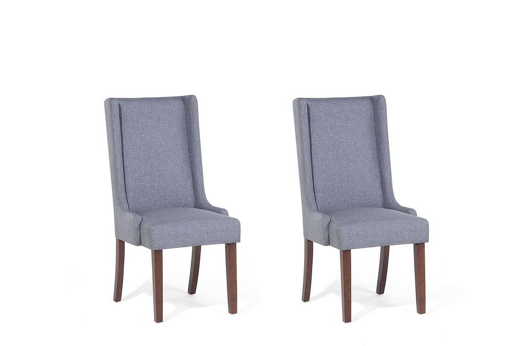 Southcrest stol 2-pack grå