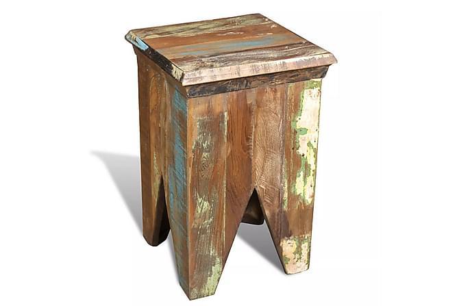 Pall återvunnet trä antik stil - Inomhus - Stolar - Pallar