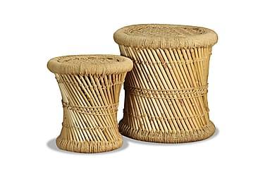 Pallar 2 st bambu jute