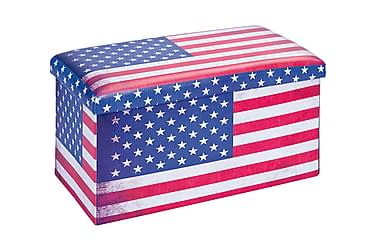 SETTI Förvaringspall USA