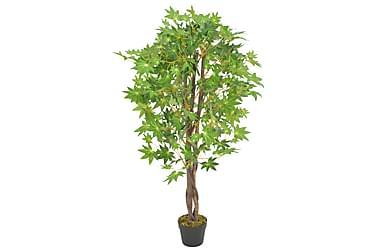 KONSTVÄXT Lönnträd med kruka 120 cm grön