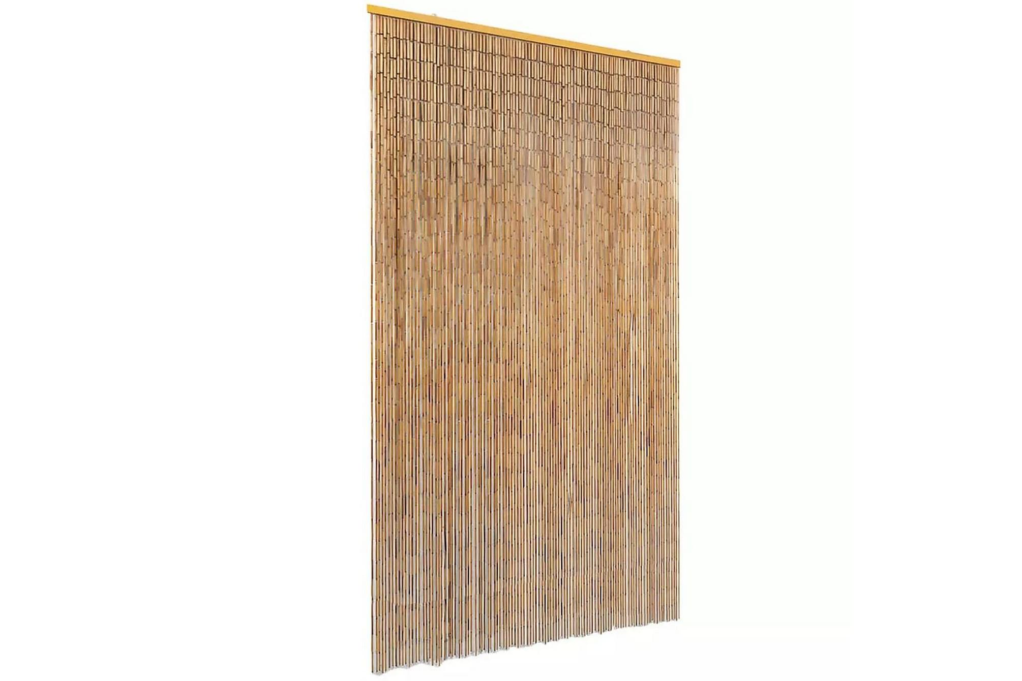 Dörrdraperi bambu 120x220 cm, Myggnät