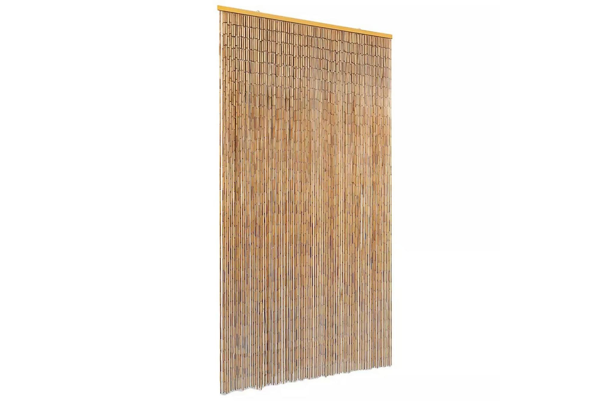 Dörrdraperi i bambu 100x220 cm, Myggnät