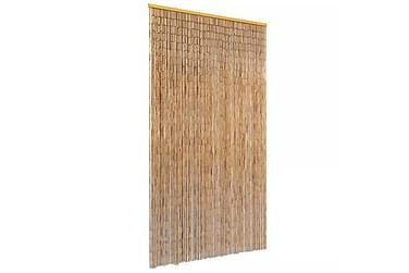 SECADA Dörrdraperi 100x220 cm Bambu Brun