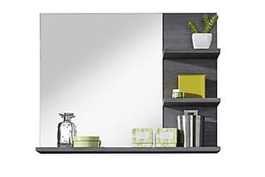STELLIE Spegel 72 Vit/Silvergrå