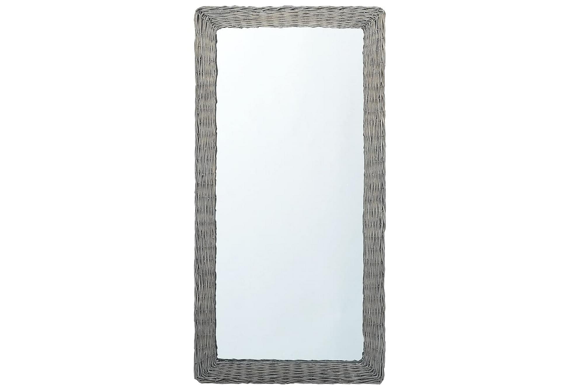 Spegel 120x60 cm korgmaterial