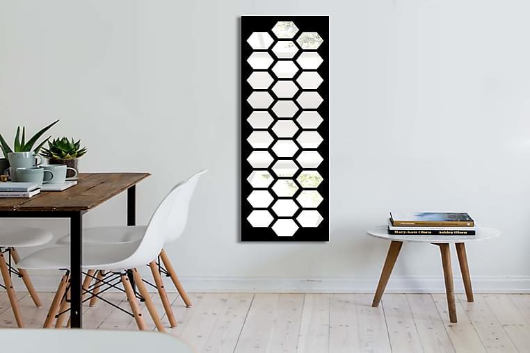 TRUSOVO Dekorspegel 108x28 cm Scandinavian Spegelglas/Vinyl - Möbler & Inredning - Inredning - Speglar