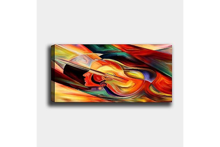 CANVASTAVLA YTY Abstract & Fractals Flerfärgad 120x50 cm - Inredning & dekor - Tavlor & konst - Canvastavla