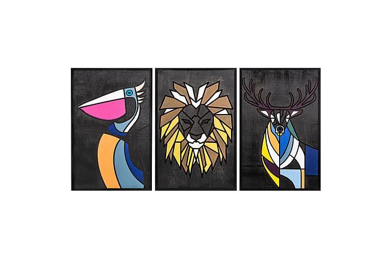 Dekoration Trätavlor - Möbler & Inredning - Inredning - Posters & tavlor