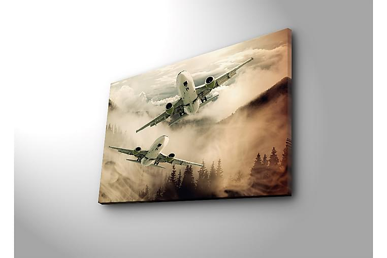 DEKORATIV Canvasmålning LED-belysning - Möbler & Inredning - Inredning - Posters & tavlor