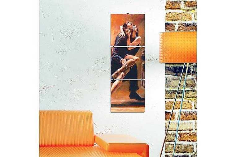 DEKORATIV MDF-målning 3 Delar - Möbler & Inredning - Inredning - Posters & tavlor
