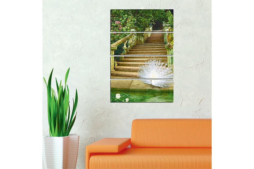 DEKORATIV MDF-målning 4 Delar - Möbler & Inredning - Inredning - Posters & tavlor