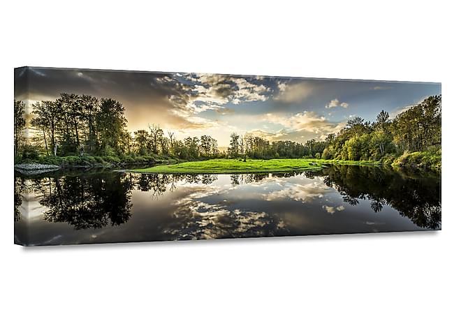TAVLA Green Sunset 60x150 - Inomhus - Inredning - Posters & tavlor