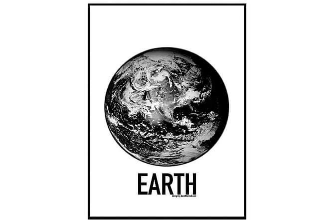 POSTER Black World - Finns i flera storlekar - Inomhus - Inredning - Posters & tavlor