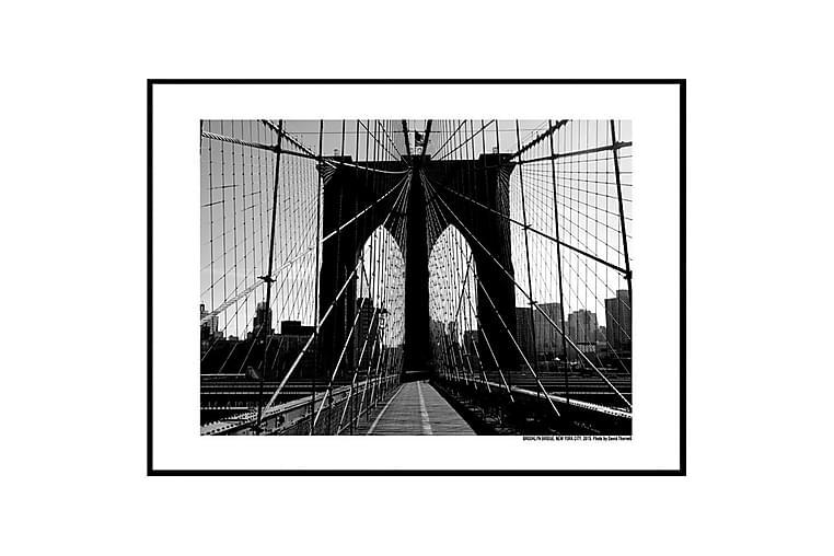 POSTER Brooklyn Bridge promenade - Finns i flera storlekar - Möbler & Inredning - Inredning - Posters & tavlor