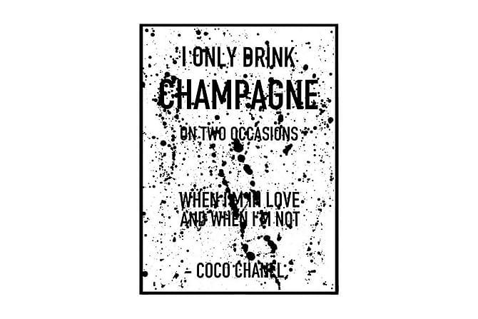 POSTER Champagne splash - Finns i flera storlekar - Möbler & Inredning - Inredning - Posters & tavlor