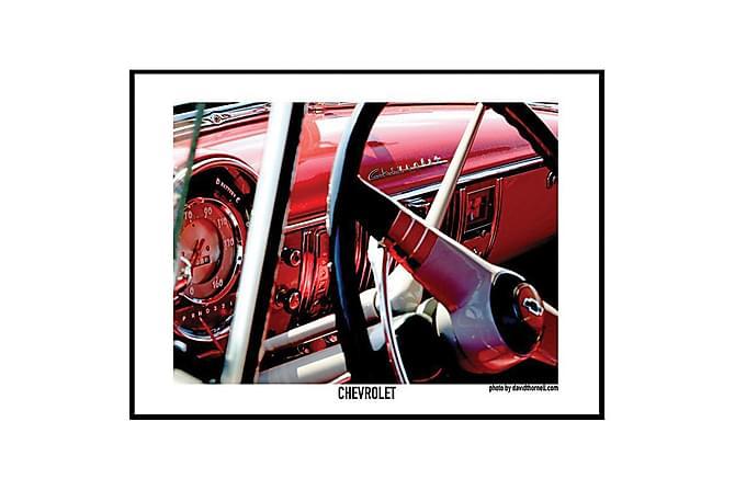 POSTER Chevrolet - Finns i flera storlekar - Inomhus - Inredning - Posters & tavlor