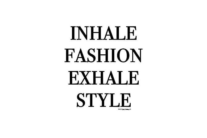 POSTER Inhale Fashion - Finns i flera storlekar - Möbler & Inredning - Inredning - Posters & tavlor